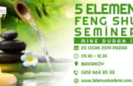 Mine Dural ile 5 Element - Feng Shui Semineri