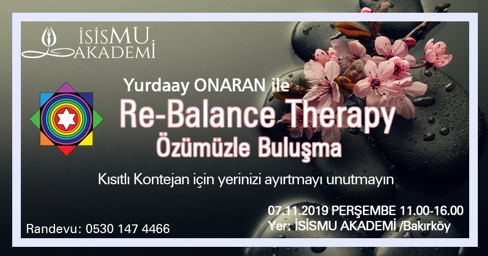Re-Balance Therapy  07.11.2019