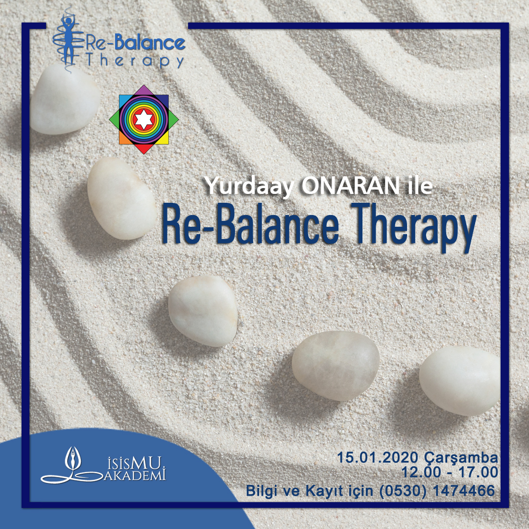 RE-BALANCE THERAPY 15.01.2020