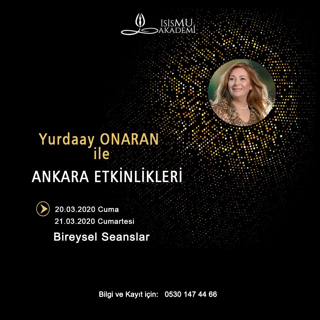 Ankara / Bireysel Seanslar 20-21 Mart