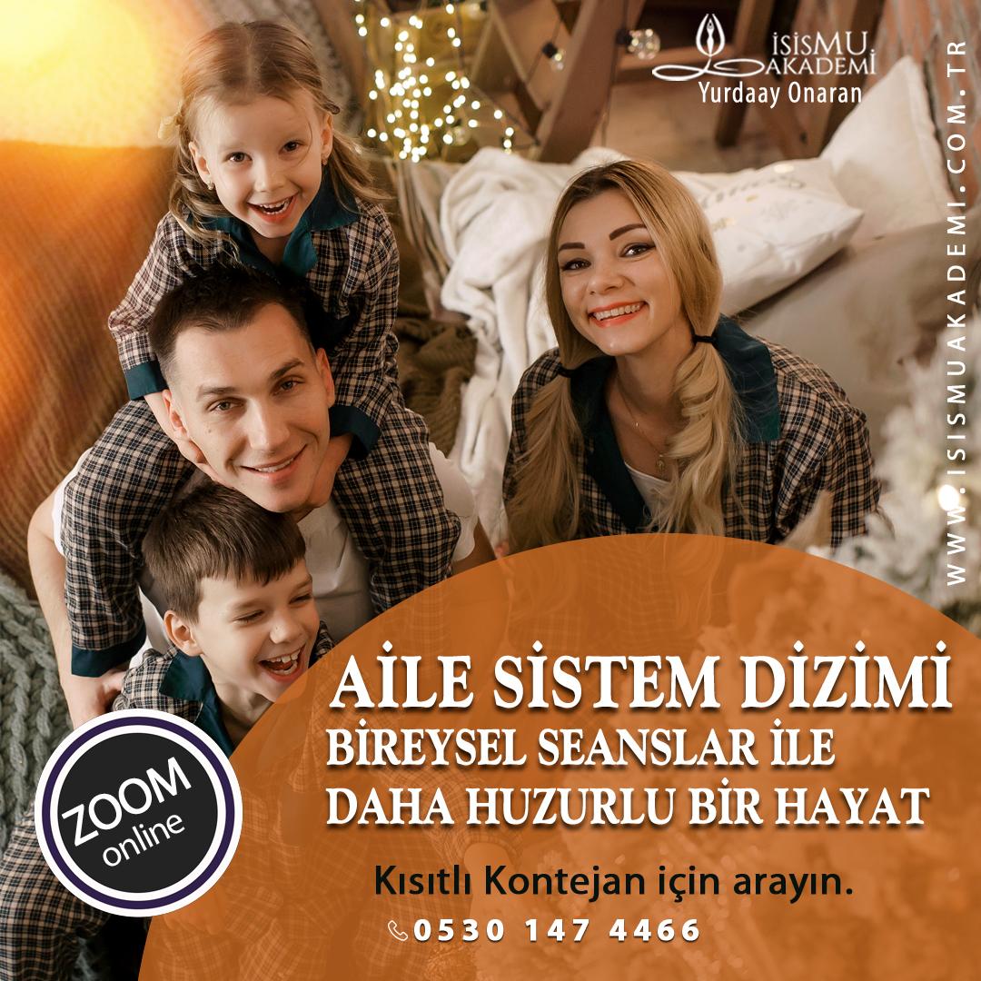 AİLE SİSTEM DİZİMİ / ZOOM