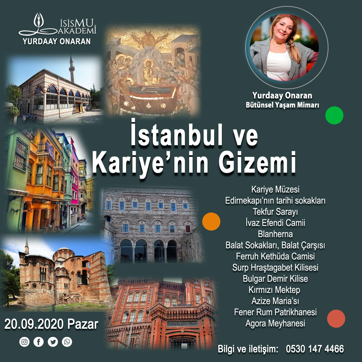 İstanbul ve Kariye'nin Gizemi