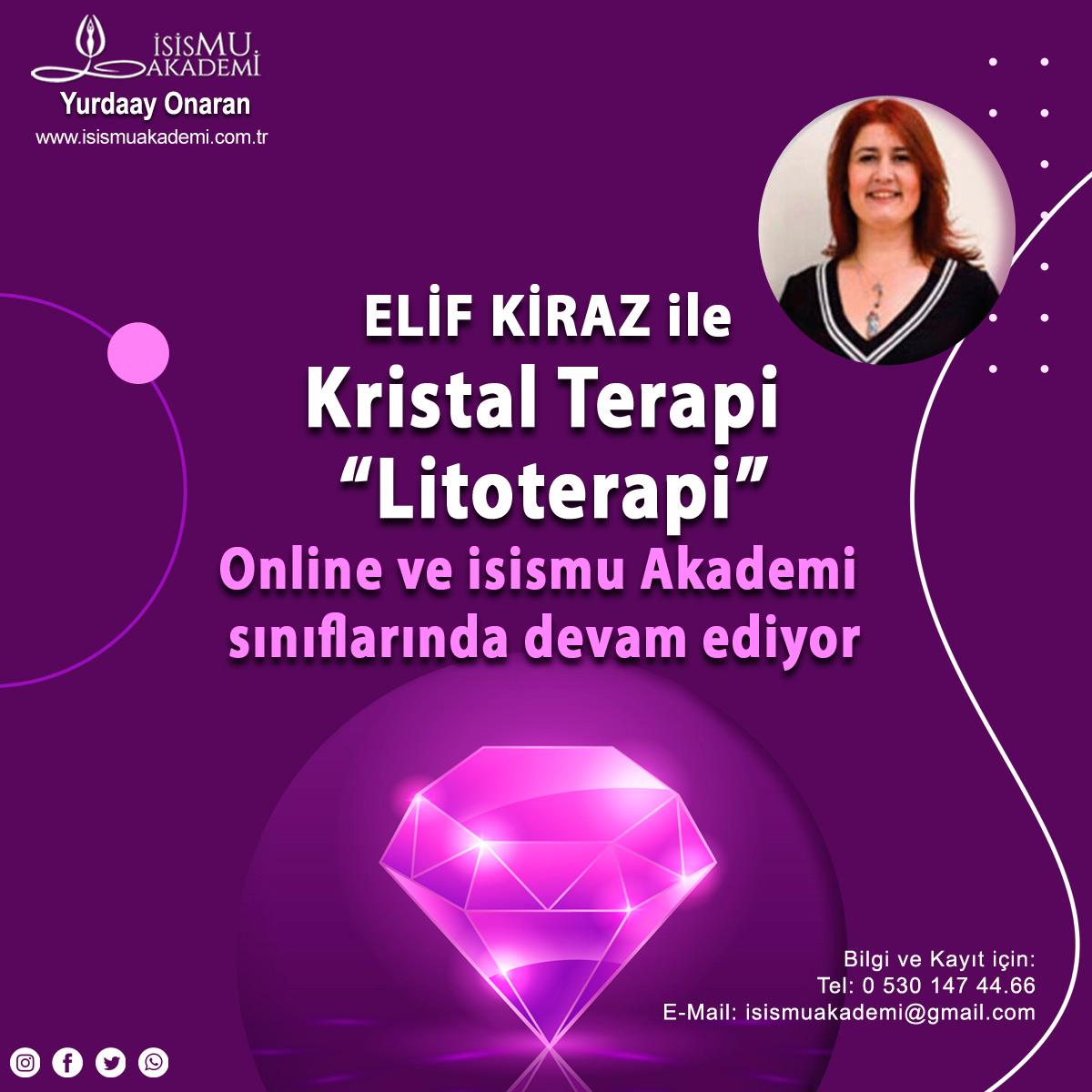 """Elif Kiraz ile """"Kristal Terapi"""" """"Litoterapi"""""""