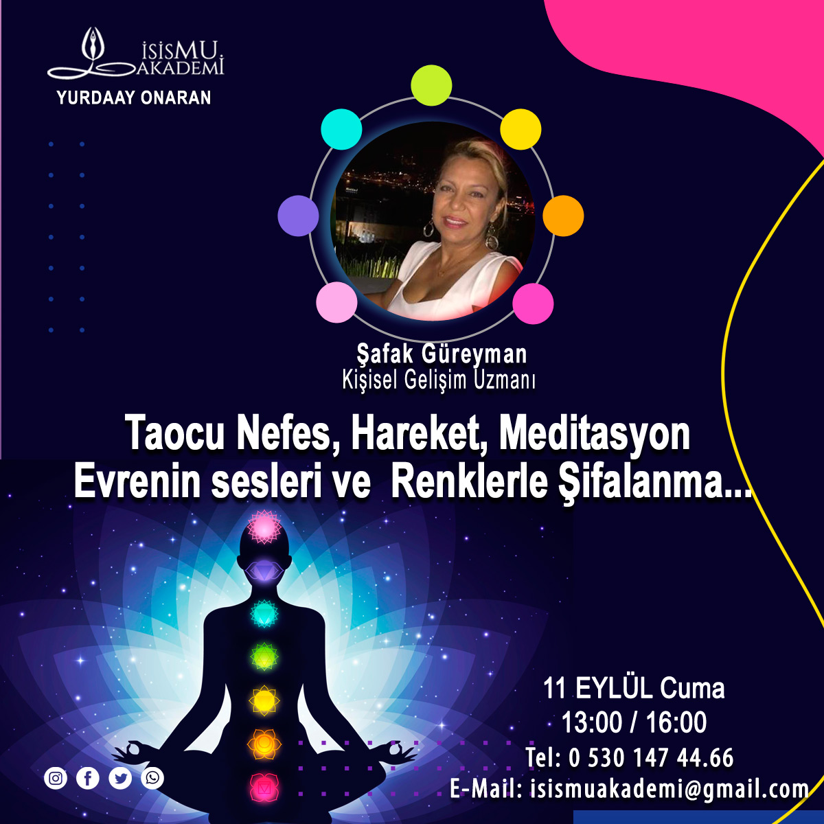 Taocu nefes, hareket, meditasyon-11.09.2020 Cuma