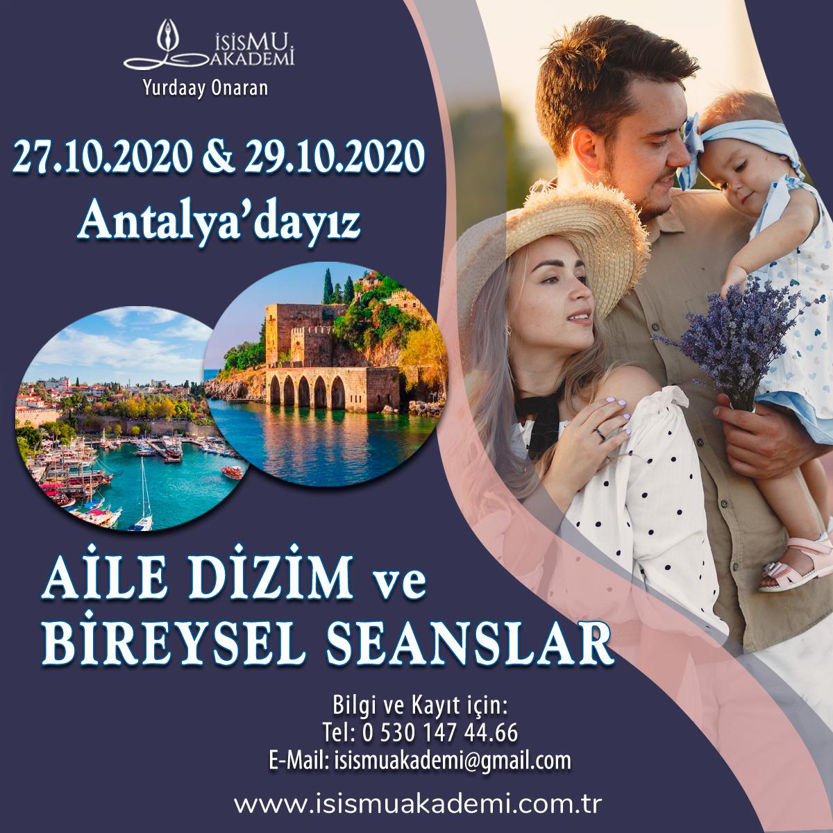 AİLE DİZİMİ VE BİREYSEL SEANSLAR/ANTALYA