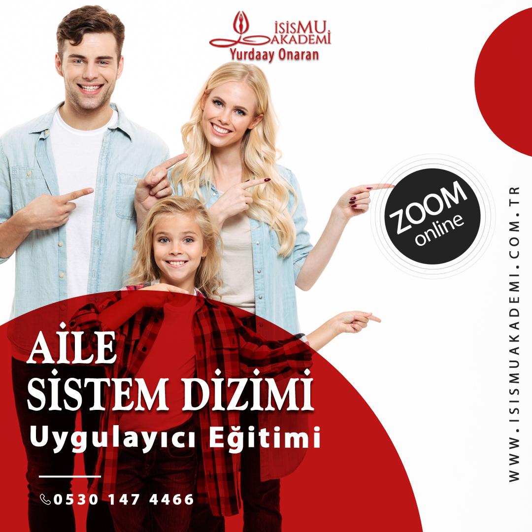 AİLE SİSTEM DİZİMİ UYGULAYICI EĞİTİMİ/ ZOOM