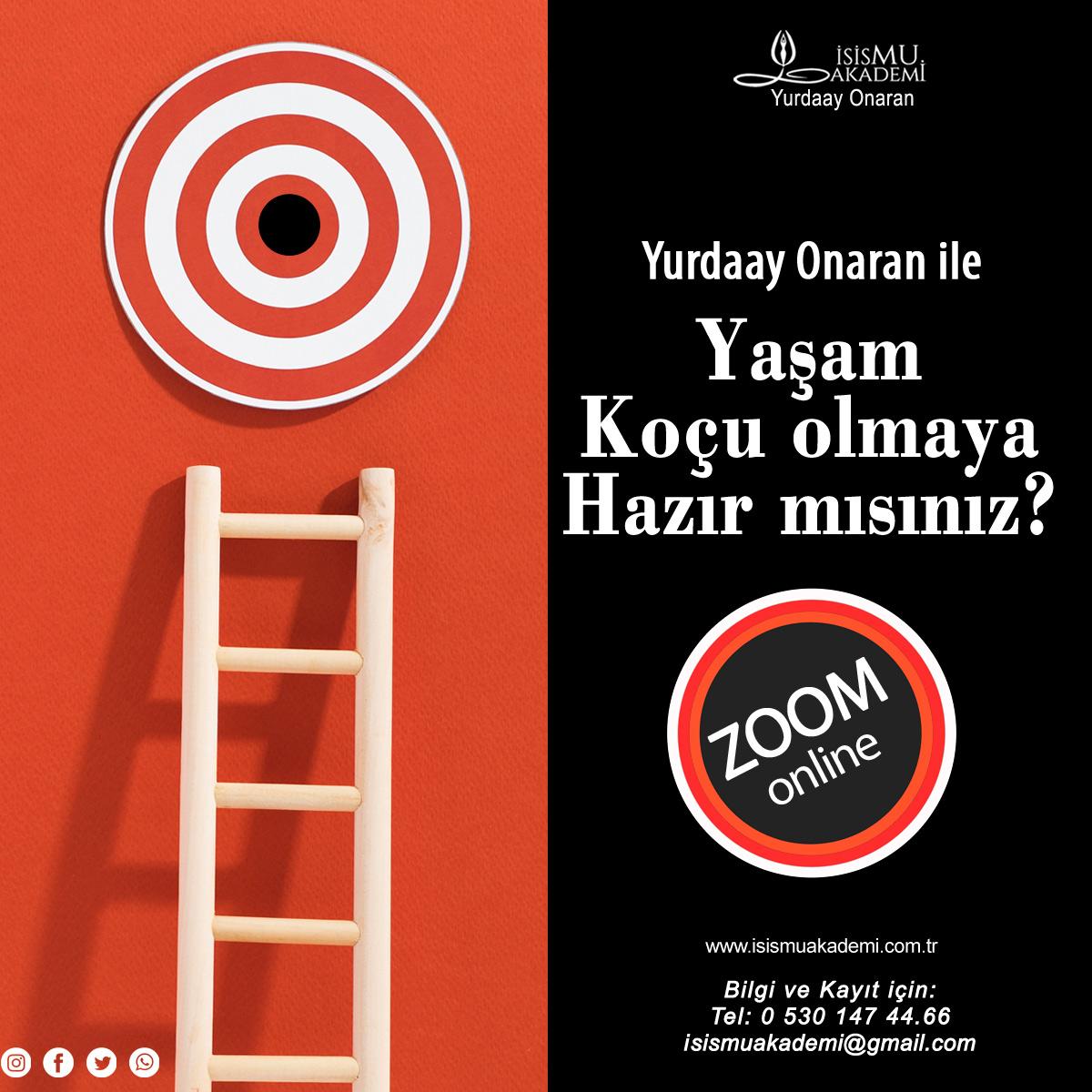 ONLİNE YAŞAM KOÇLUĞU / ZOOM
